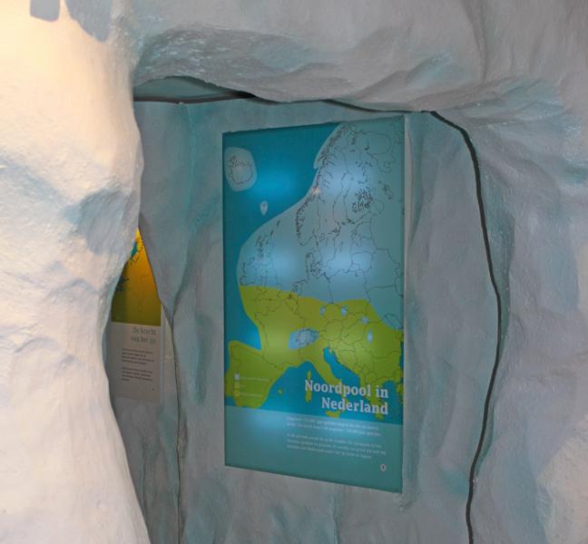 Mar en Klif ijsgrot